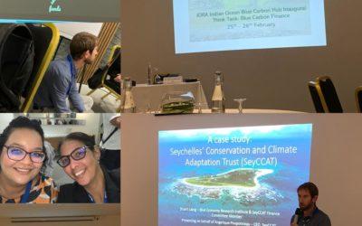SeyCCAT attends IORA's Blue Carbon Finance Think Tank