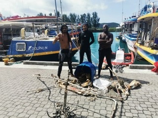 Reduction of ocean pollution through sea floor clean up, and education of fishermen and youth about the impact of ocean pollution.